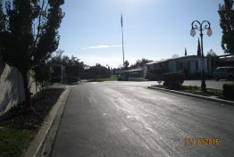 Meadowbrook Mobile Home Park - streets