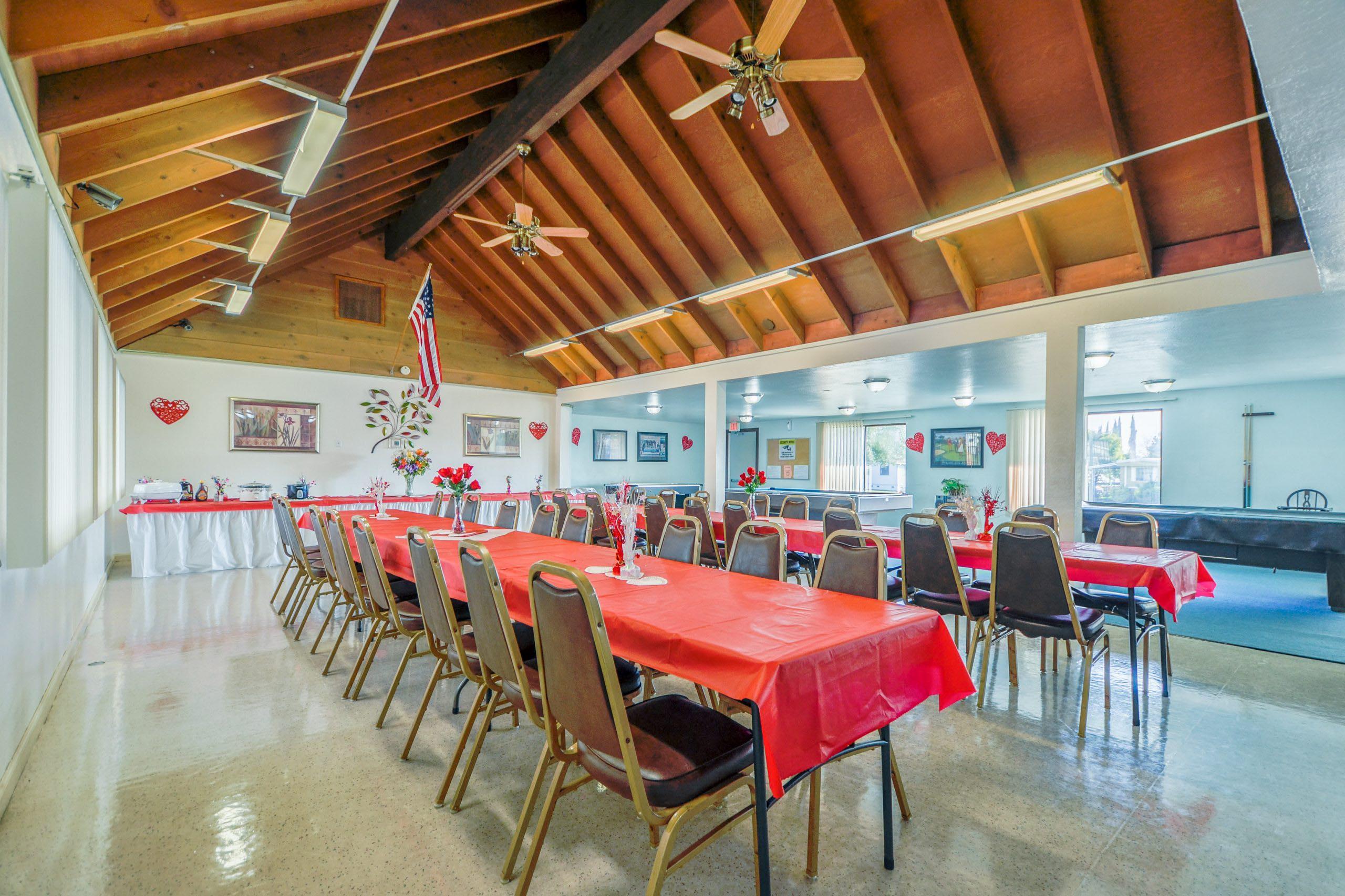 community dining hall