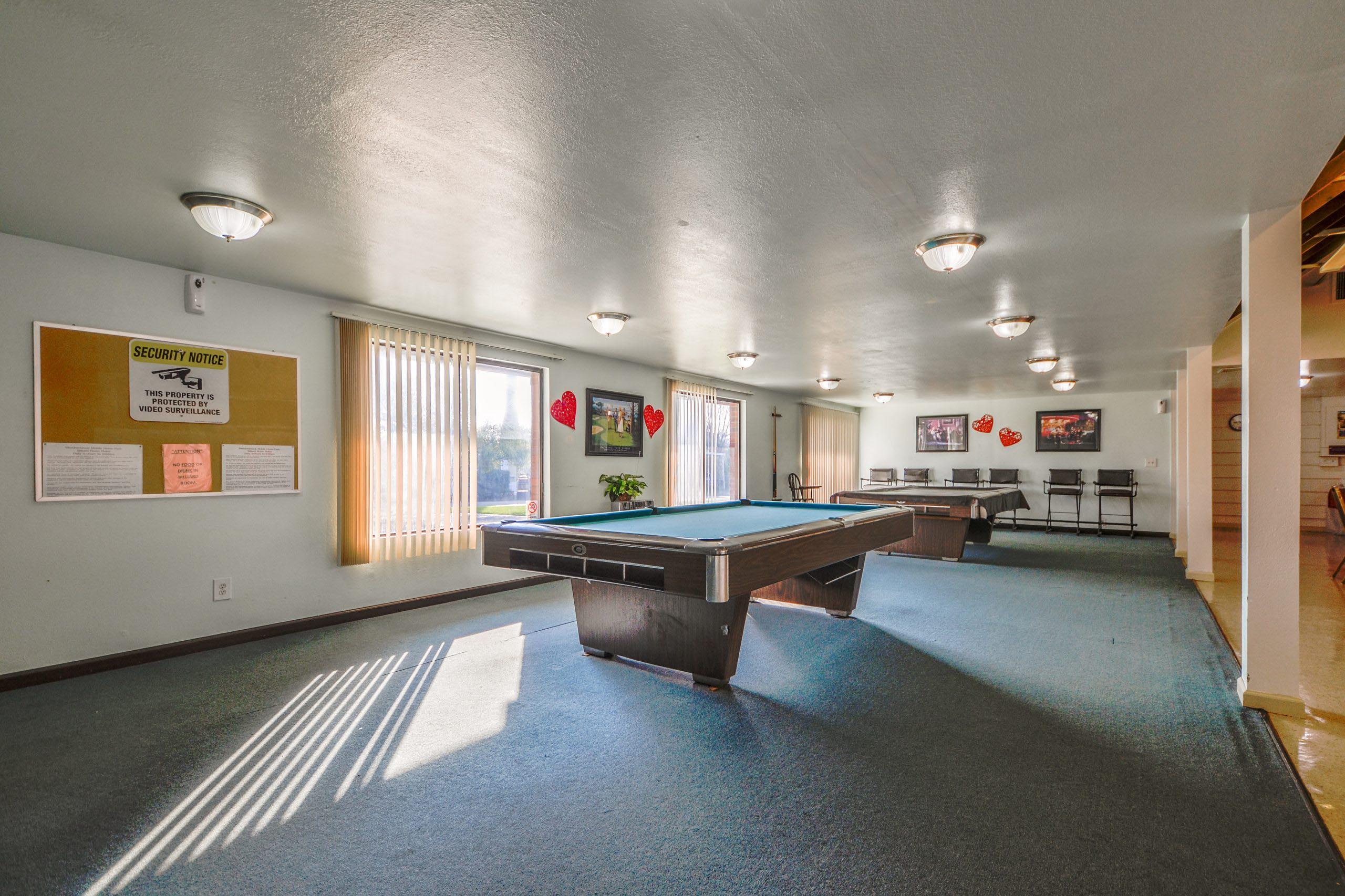 community billiard hall
