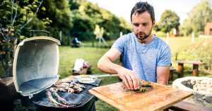 energy saving tip - cook outdoors